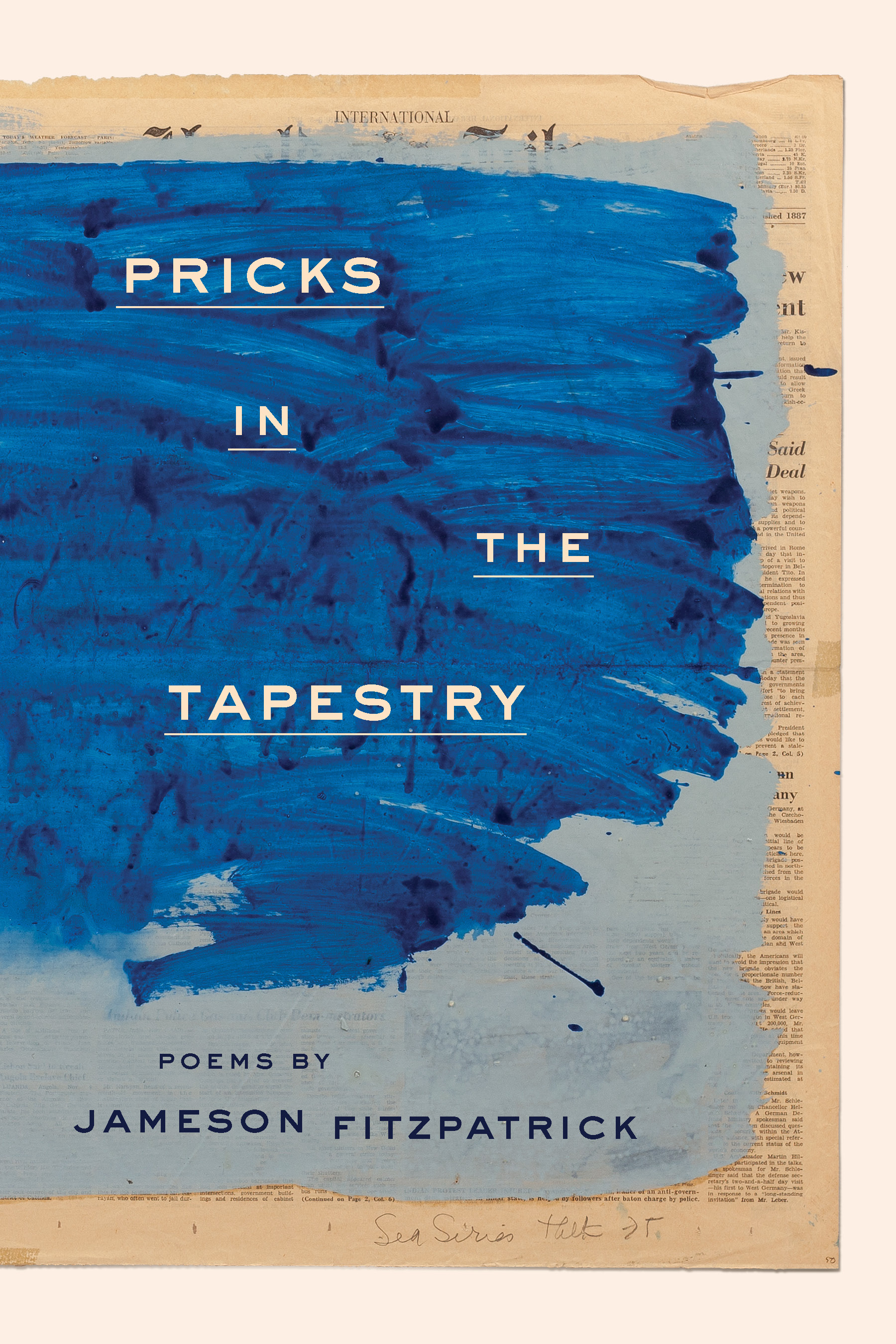Pricks In The Tapestry  Cover